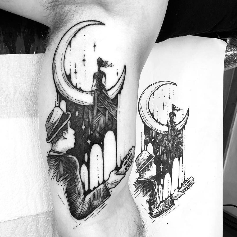 Tatuagens sketch
