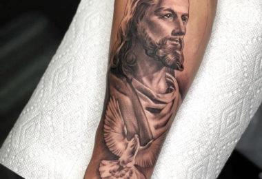 Tatuagem Jesus Cristo