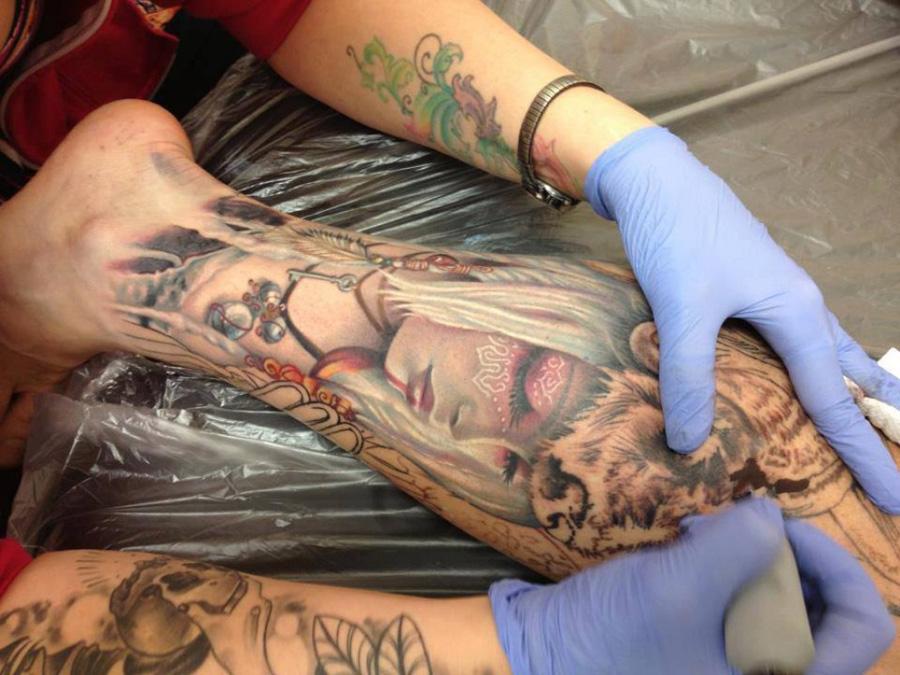 Anestesia para tatuagem