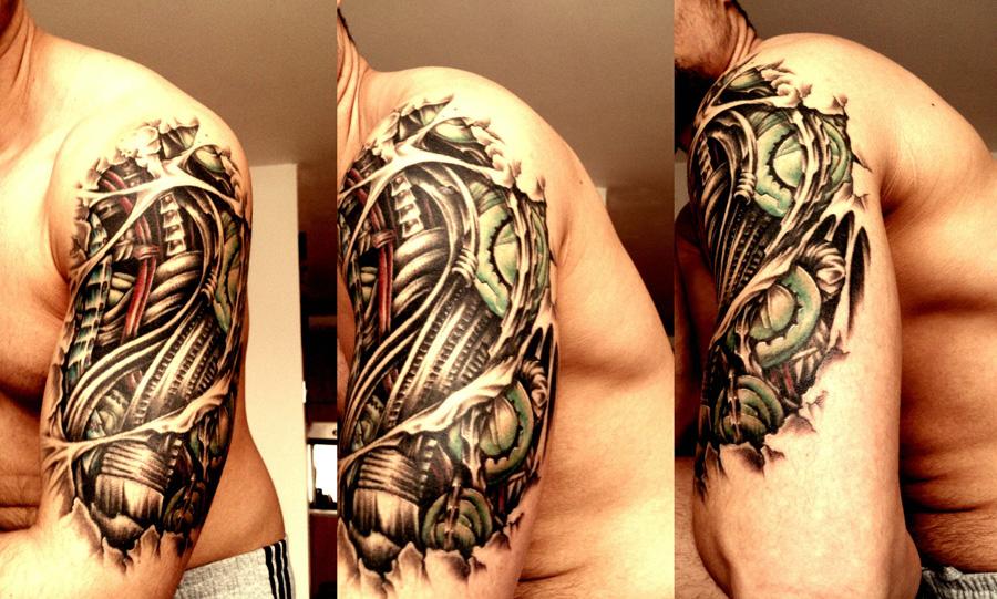 Tatuagem biomecânica