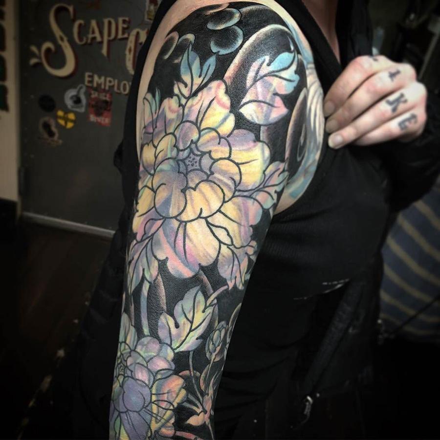 Tatuagem blast over
