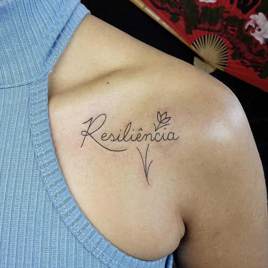 Tatuagem De Resiliência Alguns Significados E Inspirações