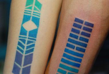 Tatuagem gradiente