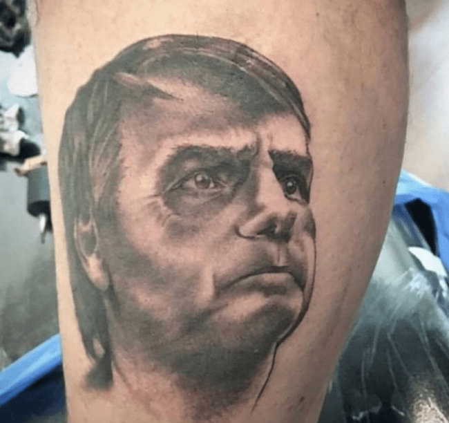 Tatuagem Bolsonaro