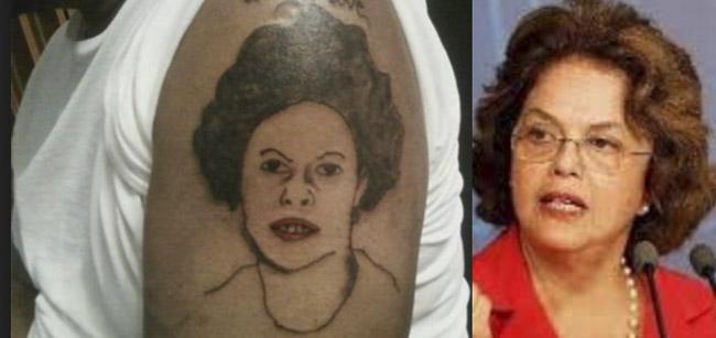 Tatuagem Dilma
