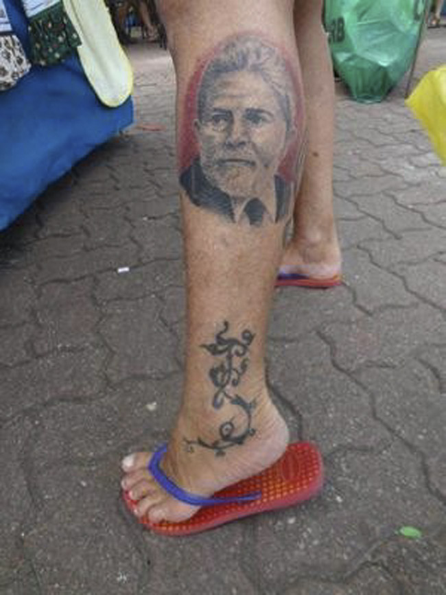 Tatuagem do Lula