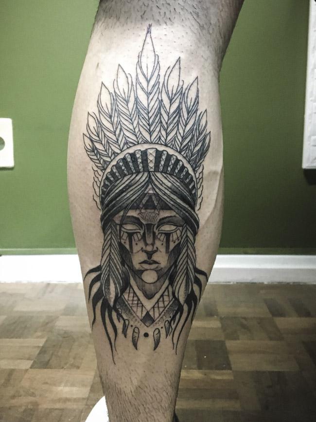 Tatuagem indígena