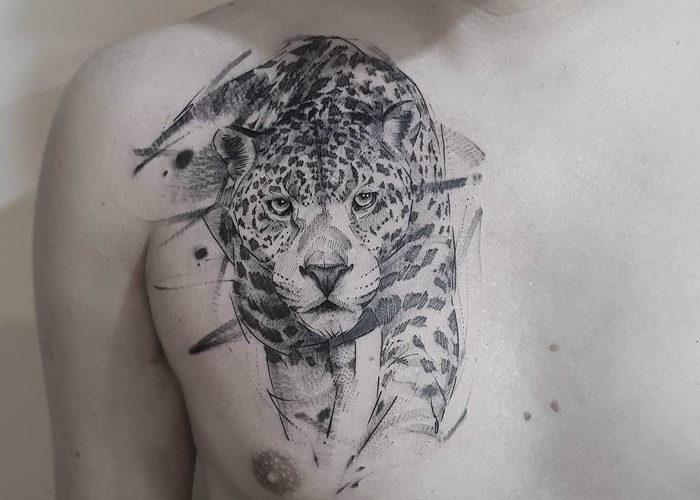 Tatuagem de onça