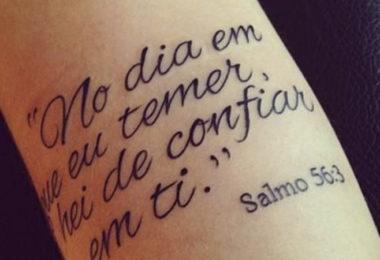 Salmos para tatuar