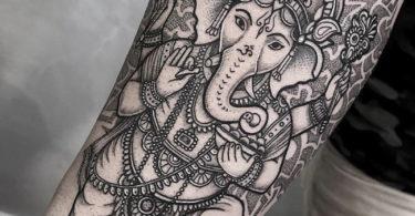 Tatuagem hindu