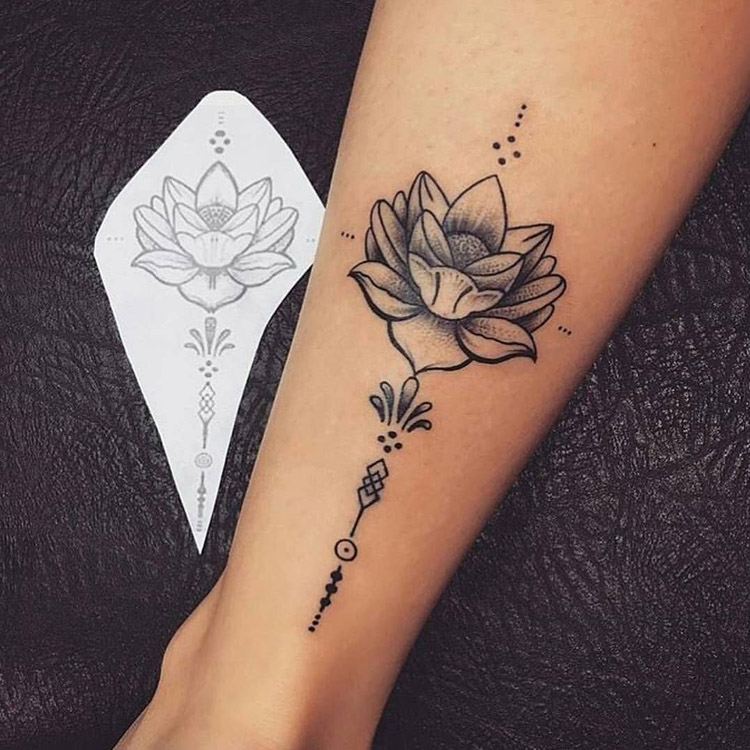 Tatuagem Feminina Na Perna Veja Dicas Sobre O Que Fazer