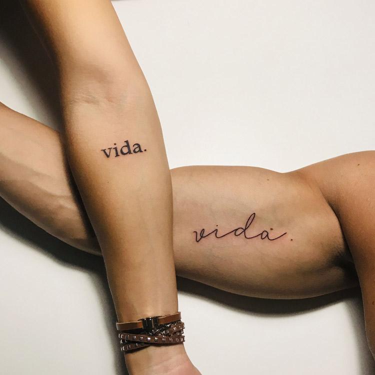 Tatuagem para namorados