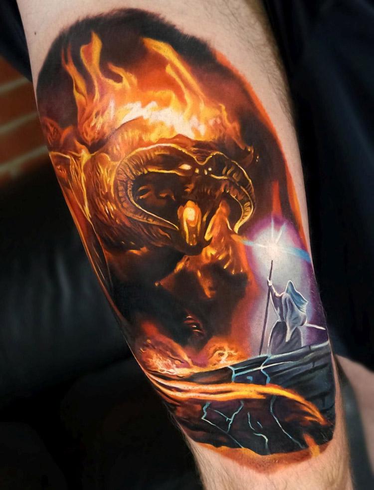 Tatuagens de fogo