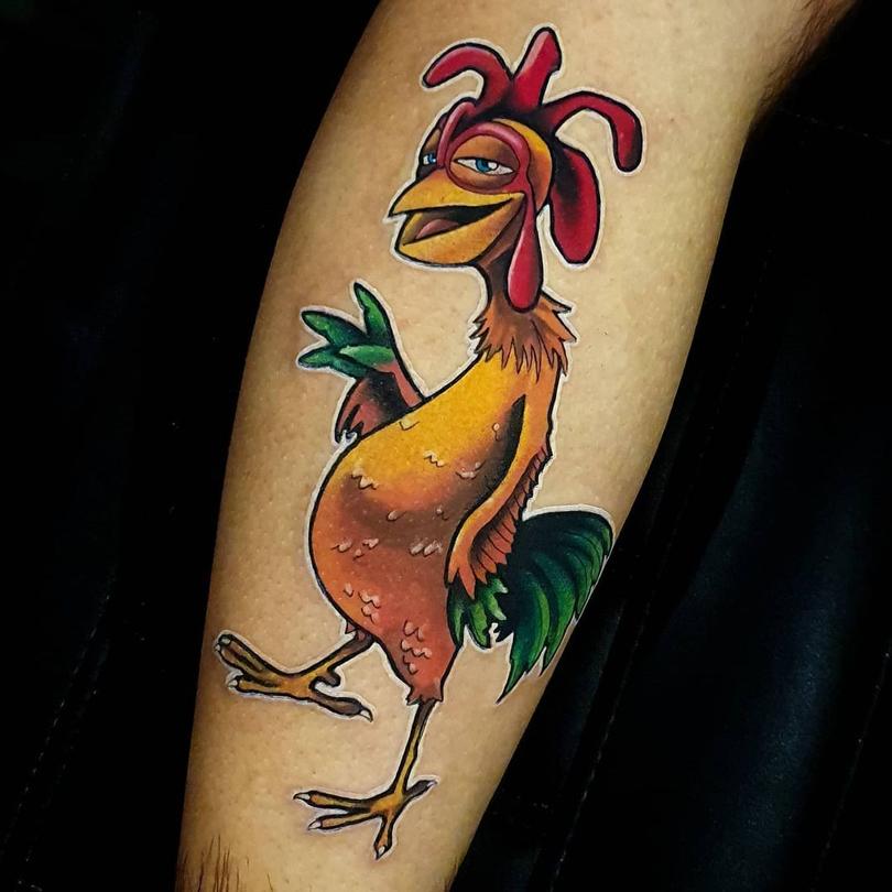 Tatuagem João Frango