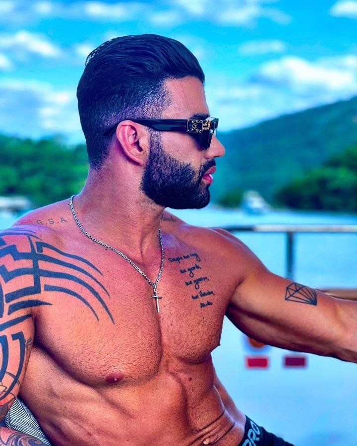 Tatuagens do Gusttavo Lima